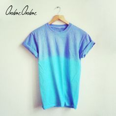 Sea / Sky Blue Purple T-Shirt