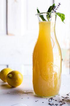 Lavender basil lemonade -- halfbakedharvest.com @hbharvest