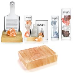 RIVSALT [grated salt] is an exciting new way of adding taste to food. its an award winning gift and a sure conversation starter at any dinner party. Scandinavian design and a gastronomic experience at it's best!