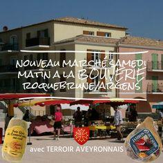 le samedi matin marché de la Bouverie à Roquebrune sur Argens !