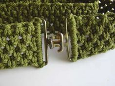 Macrame Belt by don_mae at www.craftstylish.com  - I want to make this in several colors!