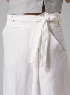 13de8e52963 Linen Wide-Leg Pants Wide Leg Linen Pants