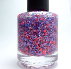 lovesick  glitter topper nail polish by pipedreampolish on Etsy, $7.75