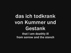 Rammstein - Klavier (With lyrics and English translations) - YouTube
