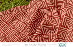 Hand block printed fabric for Indian dress by FabricTreasury