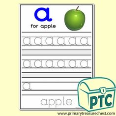 'a' Themed Phonics/Letter Sounds Activities - Primary Treasure Chest Letter Sound Activities, Ourselves Topic, Sound Art, Letter Formation, Activity Sheets, Letter Sounds, Treasure Chest, Phonics, Teaching Ideas