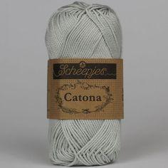 Catona Light Silver 172 - Catona Bomuld