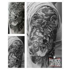 #Blackandgrey #tattoo