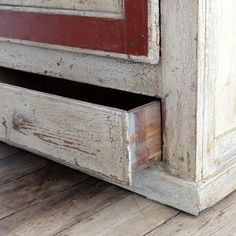 Painted English Cupboard