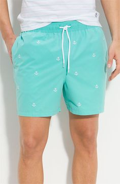 Brooks Brothers 'Southampton' Volley Swim Shorts