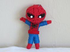 Spiderman Voodoo String Doll by VictoriasVoodoos on Etsy, $7.00