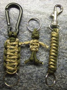 paracord key chains