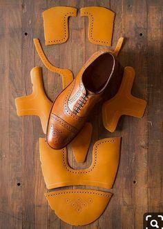 Doll Shoes, Men's Shoes, Shoe Boots, Dress Shoes, Men Dress, Crea Cuir, Best Shoes For Men, Shoe Pattern, How To Make Shoes