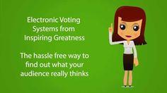 Inspiring Greatness - Electronic Voting System https://www.youtube.com/watch?v=lZocCwXHsU0