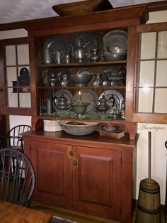 Our Dining Room. Anne Nichols - Annetiques--Pewter collection