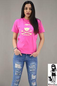 Γυναικείο t-shirt Emily Strange Beware Emily Strange, T Shirts For Women, Tops, Fashion, Moda, Fashion Styles, Fashion Illustrations