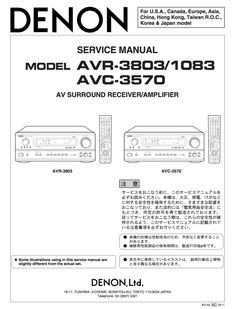The 10 best denon service manuals images on pinterest manual denon avr 3803 service manual coplete fandeluxe Choice Image