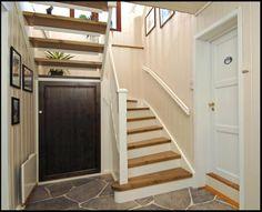 Bod/skap under trapp - Rasta Secret Space, Hanging Canvas, Interior Stairs, Under Stairs, Gallery Wall, Minimalist, Layout, Architecture, Storage
