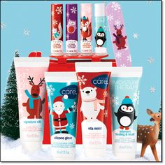 AVON CALLING...GREAT STOCKING STUFFERS ALL 9 FOR $6.99 with tax and fee total is $8.30 or they're all $0.99 each.  3 Very Merry Lip Balms, Moisture Therapy Intensive Healing & Repair Holiday Lip Balm, Very Merry Mini Nail File, 4 Holiday hand Creams. Visit www.youravon.com/mhamilton39 and order today. Register your email with me and get 10% off your next purchase plus other great offers. Thanks and Happy Shopping!