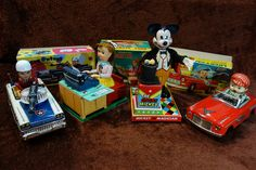 Vintage Battery Operated Toys.