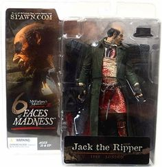 Monsters Series 3 Faces of Madness Action Figure Jack the Ripper