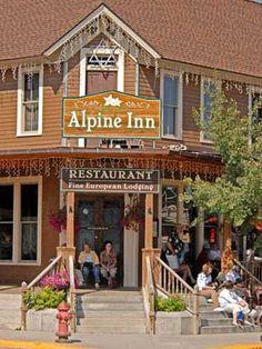 Alpine Inn restaurant 10 miles from Mt. Rushmore, 133 Main St., Hill City, SD; (605) 574-2749  South Dakota