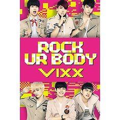 【CD】【送料込】VIXX(ビックス) - Rock Ur Body 韓国Mnetの人気番組「マイドル」出身のボーイズアイドルグループ・VIXX(ビックス)のセカンド・シングル『Rock Ur Body』! VIXX(ビックス)は、ソ・イングクやソン・シギョンなどが所属するジェリーフィッシュエンターテインメントが渾身を込め送り出したN(エヌ)・LEO(レオ)・KEN(ケン)・Ravi(ラヴィ)・ホンビン・ヒョクの6人からなる初のボーイズグループ。アイドル育成プログラム「マイドル」(Mnet)では、10人の練習生の中から勝ちぬき、VIXX(ビックス)誕生に至るまでのメンバーのリアルな姿が映し出され、デビュー前から話題を集めていた。そして、2012年5月にシングル「Super Hero」で華やかなデビューを果たし、早くもセカンド・シングルとなる『Rock Ur Body』には、SISTER・ダソムと共演したミュージックビデオが話題のタイトル曲「Rock Ur Body」のほか、「痛いけど好き(UUUUU)」、「Rock Ur Body」のインスト曲など、全3曲が収録されている。