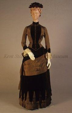Day dress, 1880's