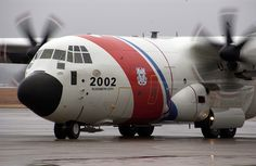 Coast Guard HC-130J Arrives at ATC Mobile by U.S. Coast Guard, via Flickr