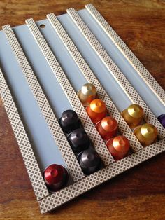 Chris Makes Things - aka. Lazy Crafternoons: Craft fuel: Coffee - DIY Nespresso Capsule Holder