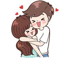Tera ghar ha who aisa kaisa chod dagi tu chup what about your parents n me Safina Cartoon Girl Images, Love Cartoon Couple, Cute Cartoon Pictures, Cute Love Cartoons, Anime Love Couple, Cute Love Pictures, Cute Love Gif, Bebe Anime, Love Wallpapers Romantic