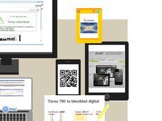 Utilizamos diversas herramientas para crear nuestra identidad en la red: Dooid me, código QR http://prezi.com/ptbgowhl6iob/mi-identidad-digital/