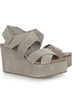 986b3907929d Pedro Garcia - Delsie suede wedge sandals