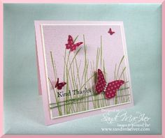Inspired by nature stamp set by stampin up card designed by sandi maciver