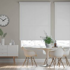 These Select Fabric Light Filtering Cordless Shades from SelectBlinds.com are modern and sleek which makes them the perfect complement to any style. Modern Roller Blinds, Room Darkening Shades, Motorized Shades, Light Filter, Roller Shades, Color Filter, Living Room Modern, Window Coverings, Interior Design
