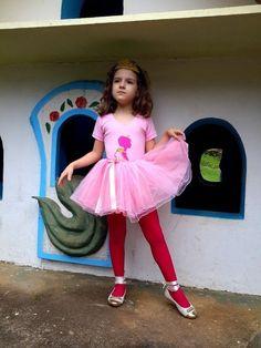 Conjunto Princesa - 1 a 8 anos