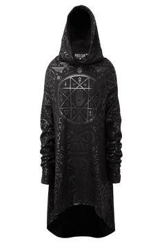 Killstar Gothic Mens Cult Ritual Hoodie- Sold Out, Sorry Gothic Fashion Men, Dark Fashion, Mens Fashion, Fashion Goth, Alternative Mode, Alternative Fashion, Gothic Trends, Killstar Clothing, Gothic Mode