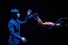 As a child growing up in Taiwan, Huang Yi both longed for and identified with robots.