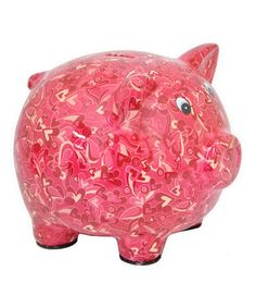 This Pig Money Bank is perfect! #zulilyfinds