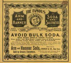 Arm n Hammer Ad