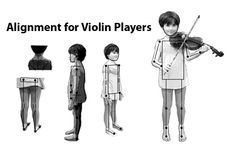Katysays - Alignment for violin players