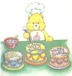 Noelle Christmas uploaded this image to 'Birthday Graphics'. See the album on Photobucket. Care Bears, Care Bear Tattoos, Cute Cartoon Characters, Cartoon Posters, Care Bear Party, Cute Cartoon Pictures, Rainbow Brite, Children Images, Kids Prints