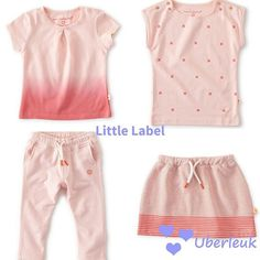 Pretty in pink : Little label voor meisjes  #littlelabel #biocotton #meisjesoutfit #ootd