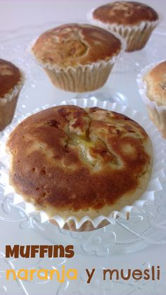 Sivila Happy Bakery : ♥ Muffins de naranja y muesli
