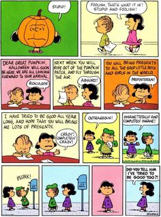 "Charlie Brown ""The Great Pumpkin"""