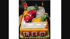 Torta Cars Lightning McQueen