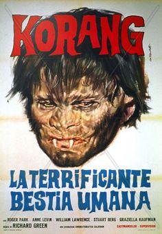Horripilante bestia humana, La poster, t-shirt, mouse pad Horror Movie Posters, Horror Films, Film Posters, American Horror Movie, Joe Dallesandro, Film Archive, Famous Monsters, Anne Of Green, Cinema Film