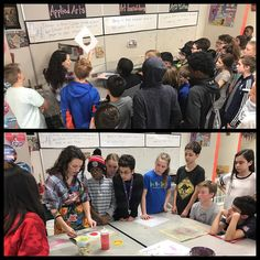 #tbt That time when the Oak Park Ed Foundation helped us bring in artist/educator Claire R. to make paper with our students. #ArtEd #OakPark97 #OPEF #gbmsart