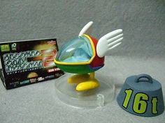 Gashapon Shooting Game Fighter Mini Model -Fantasy Zone, OPA OPA