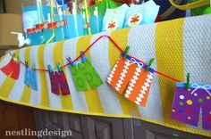 I know I have been a little MIA lately, but I am thrilled to show you this cute party I styled for a client who requested a beach/pool part. Pool Party Kids, Summer Beach Party, Kid Pool, Splash Party, Cat Party, Party Kit, Pool Party Decorations, Party Themes, Theme Ideas